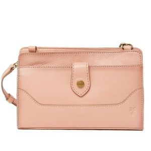 Frye Lucy Leather Crossbody / Clutch